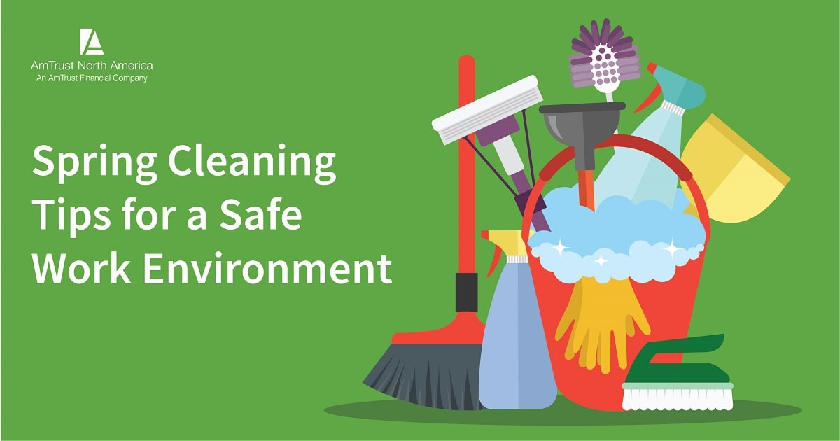 Keeping Employees Safe and Healthy: Spring Cleaning Tips for Small Businesses