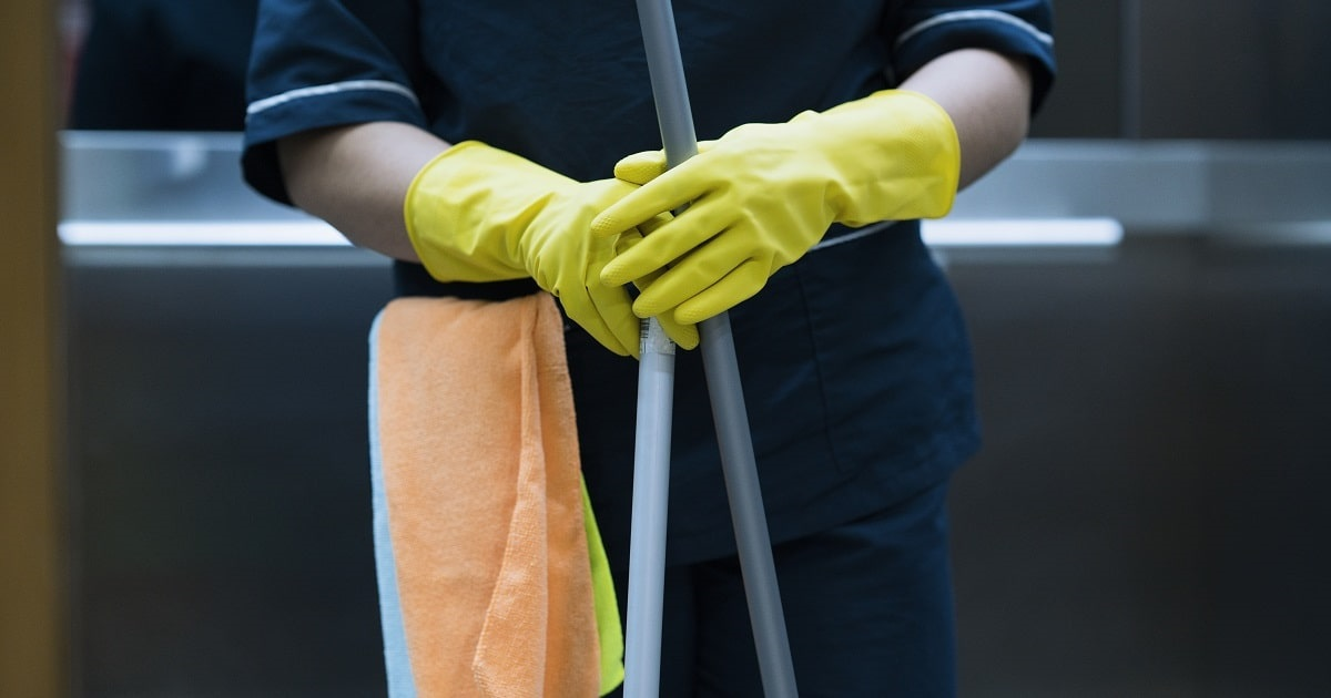 Employees on the Front Lines During the COVID-19 Crisis: Cleaning and Janitorial Staff