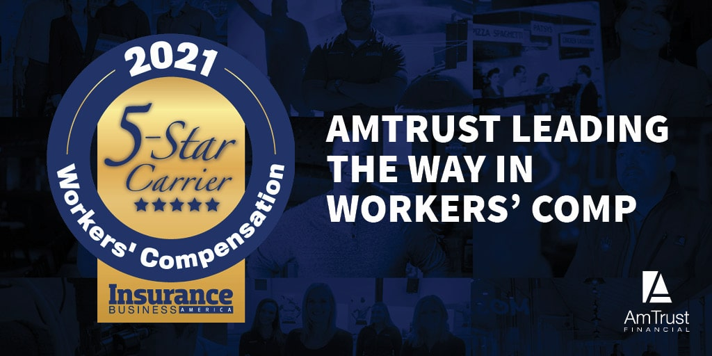 AmTrust Receives IBA Five-Star Excellence Award for Workers' Compensation