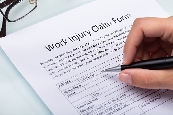 employer filing a workers' compensation claim
