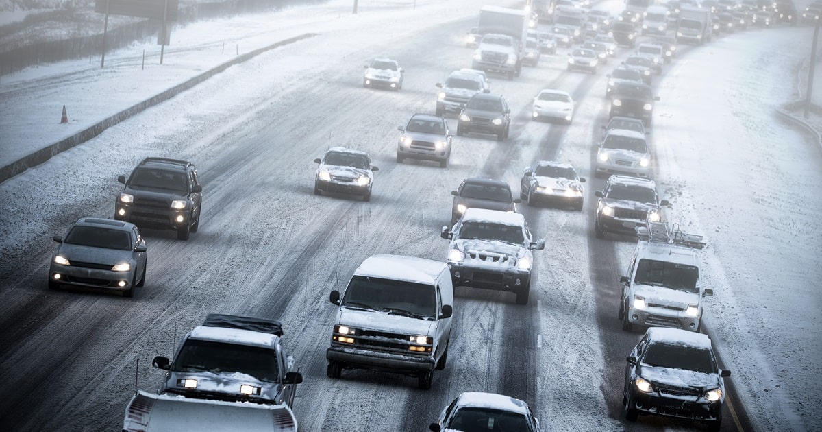 On the Road in Winter: Driving Tips to Keep You Safe