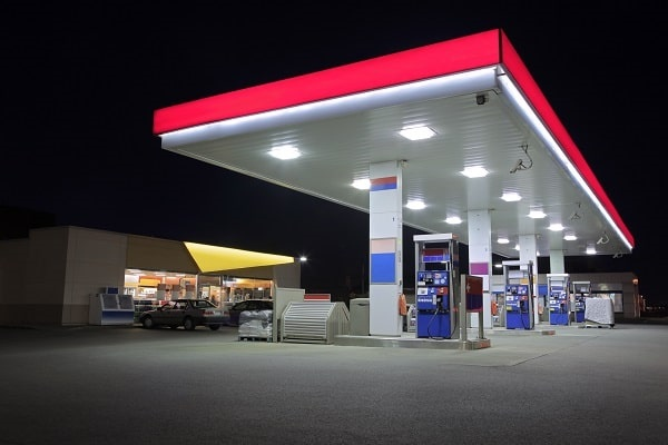 gas station store at night susceptible to workplace violence