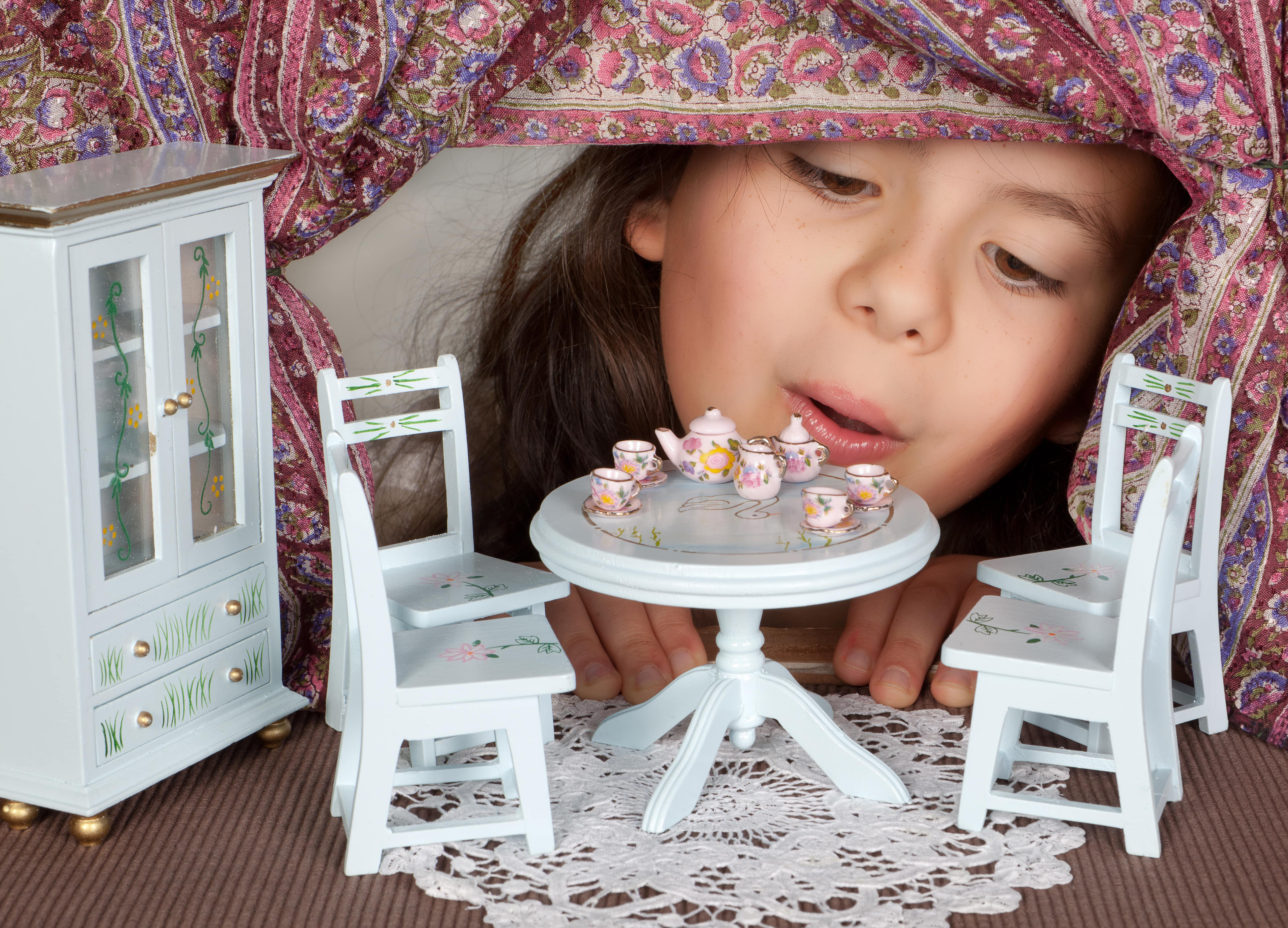 Dollhouse Miniatures: A Child's Toy & Adult Hobby
