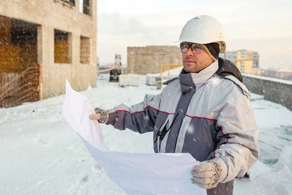 winter worker avoiding a workers' compensation claim
