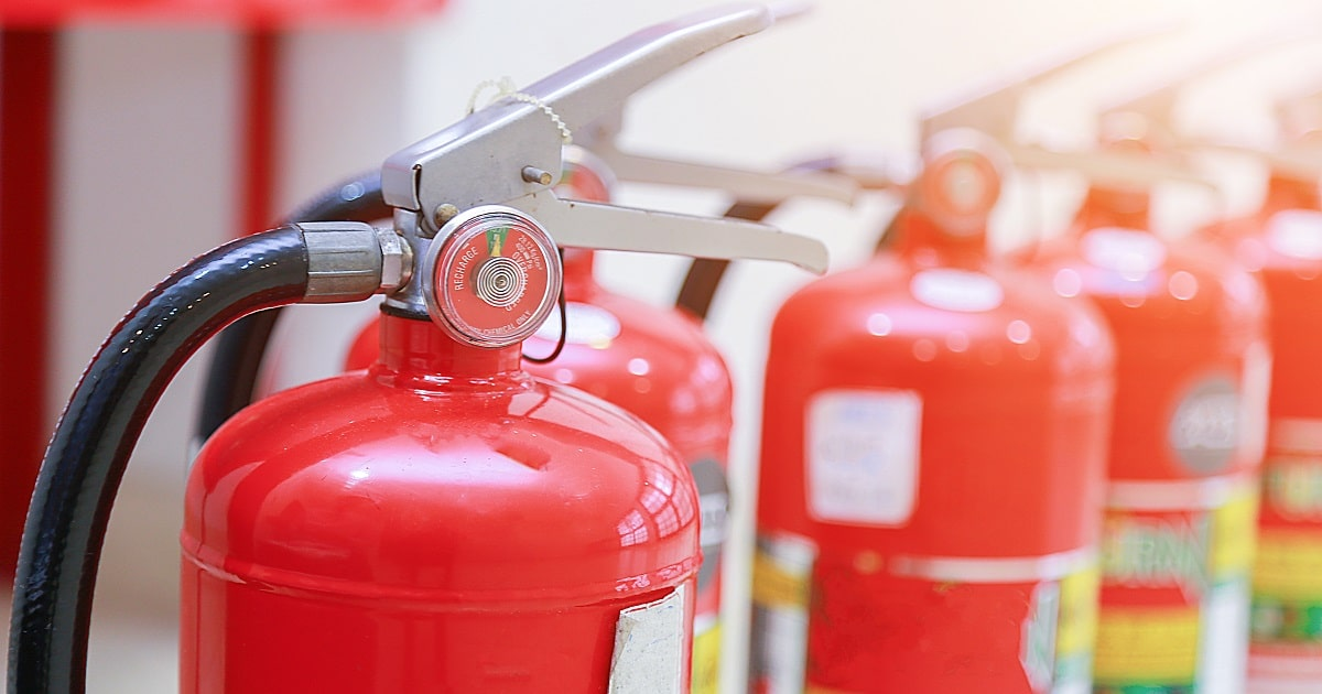 Using Portable Fire Extinguishers in Health Care Facilities